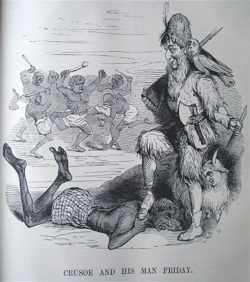 robinson crusoe and friday relationship