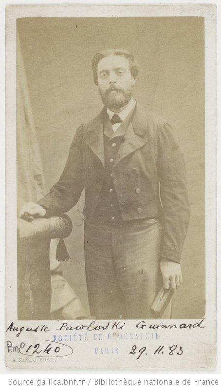 Auguste Pawloski Guinnard.1863