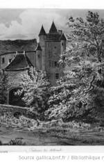 Dordogne. Château de Millard2