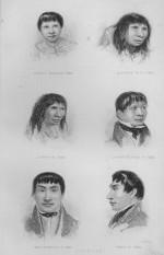 Portraits of the Fuegians taken on board the Beagle